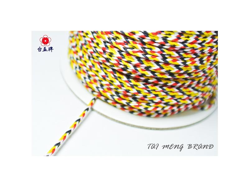 台孟牌 六色線 鮮艷款 六六大順 (編織、手環、串珠、中國結、項鍊、DIY)專用,優惠上市