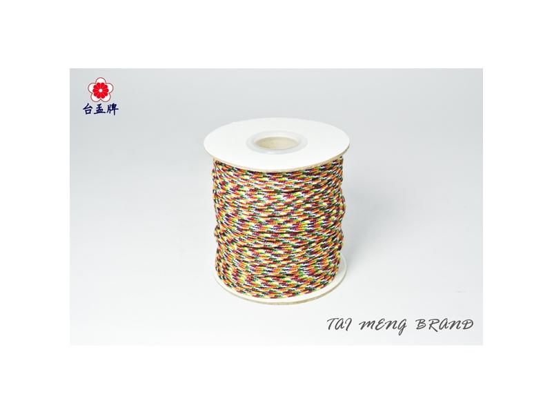 台孟牌 七色線 無加金蔥 (編織、手環、串珠、中國結、項鍊、DIY) 專用,優惠上市中!