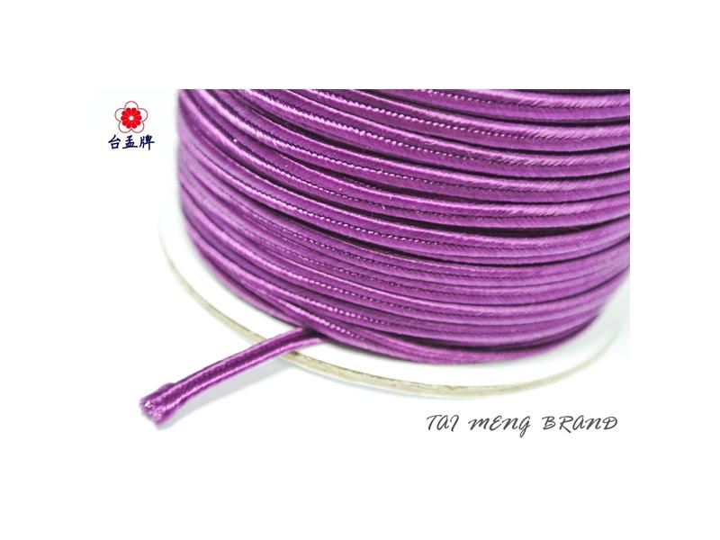 台孟牌 蛇腹帶 55碼 高貴紫色 (手環編織、服裝材料、窗簾織帶、包裝、飾品DIY) 專用