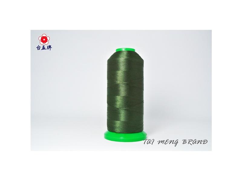 台孟牌 尼龍線 #50 (二股) 4000碼 深綠色 (車縫、手縫、拼布、壓線)專用