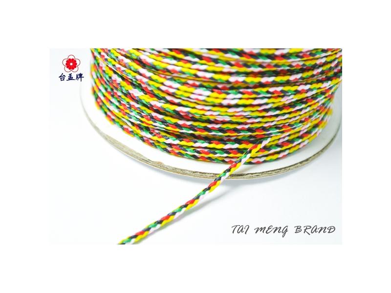台孟牌 七色線 造型鮮艷款 (編織、手環、串珠、中國結、項鍊、DIY) 專用,優惠上市中!