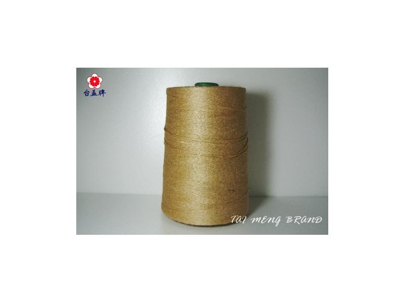 台孟牌 原色麻繩 一公斤大包裝 兩種規格 (麻線、毛線、麻紗、編織、手工藝) 專用