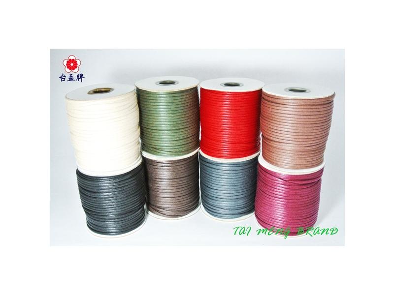 台孟企業有限公司-仿皮繩、皮繩、繩子、臘繩、束口繩,台灣專業大量製造與批發,客製化訂做