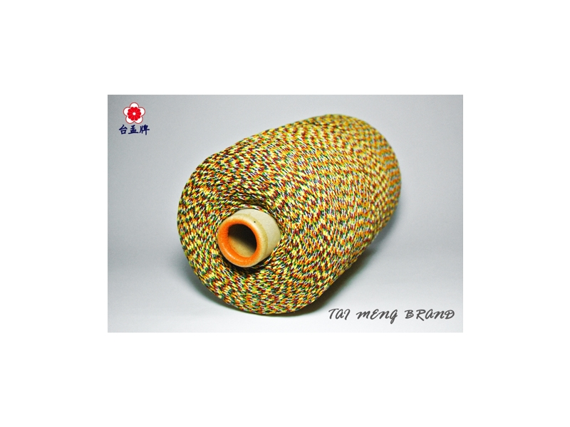 台孟牌 五色線 無加金蔥 半公斤中包裝 三種尺寸(編織、手環、串珠、中國結、項鍊、DIY)