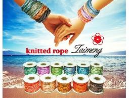 台孟企業有限公司-台孟牌特殊配色針織繩,服裝配料,設計師專用款