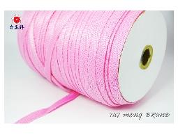台孟牌 水壺帶 12碼 粉紅色 (PP織帶、扁織帶、特多龍織帶、手提繩、包裝帶、DIY)