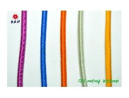 台孟牌 圓鬆緊帶 2.5mm 144碼 35色(口罩鬆緊帶、包裝帶、鬆緊繩、久帶、拼布材)