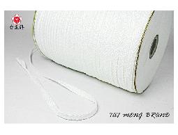 台孟牌 人字帶 6mm(二分)35碼 白色 (束口帶、手提繩、包邊布條、提帶提把、織帶)