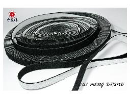 台孟牌 毛面鬆緊帶 15mm 10碼 (拼布材料、服裝輔料、包裝帶、織帶、久帶、彈性帶)