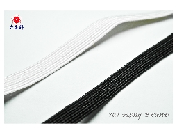 台孟牌 走馬鬆緊帶 6mm(8c) 144碼黑色(禮品禮盒束帶、飾品DIY、服裝久帶)