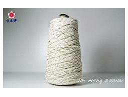 台孟牌 純天然棉繩 白色 一公斤大包裝 七種規格 (束口袋、麻花繩、細棉繩、粗棉繩、棉線)