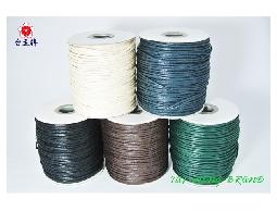 台孟牌 仿皮繩 2mm 100碼 (皮繩、繩子、臘繩、束口繩、編織繩、包裝繩、手工藝)