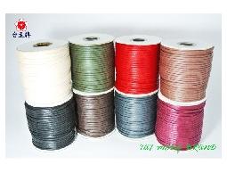 台孟牌 仿皮繩 3mm 50碼 (皮繩、繩子、臘繩、束口繩、編織繩、包裝繩、手工藝) 專用