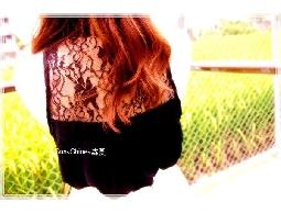 森夏∥Sunshine✿ 背後性感蕾絲 無袖傘狀上衣~現貨 限定 獨家 加贈 超有型紅色豹