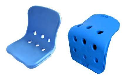 環保L型椅面