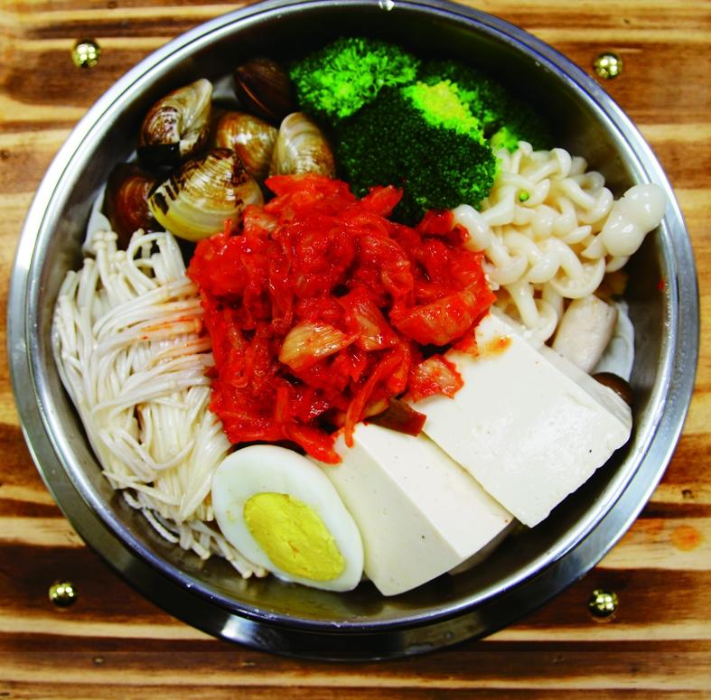 韓國泡菜鍋燒烏龍