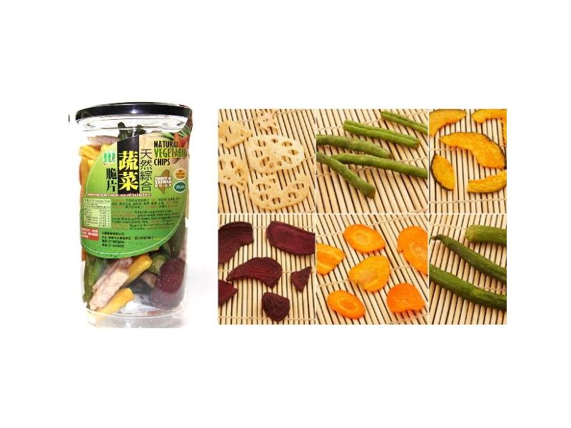 HI蔬菜脆片水果脆片-綜合蔬菜脆片《罐》