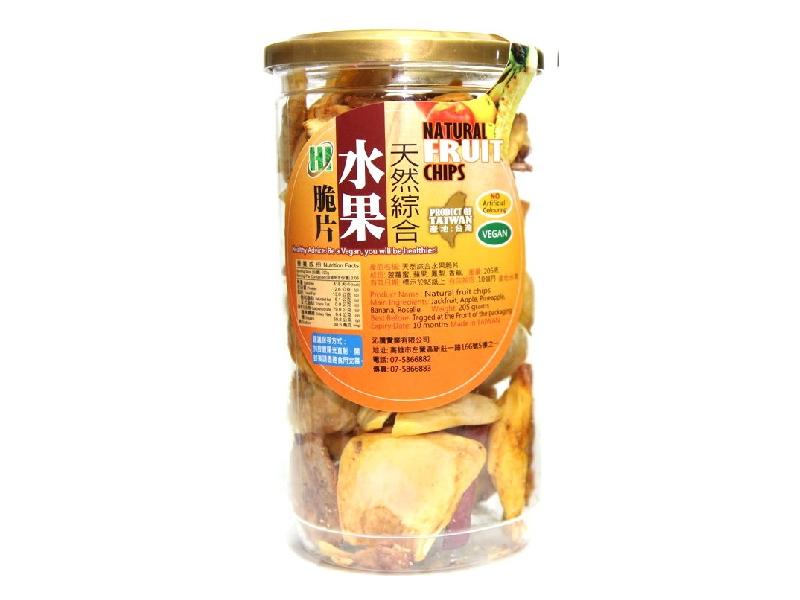 HI蔬菜脆片水果脆片-綜合水果脆片《罐》