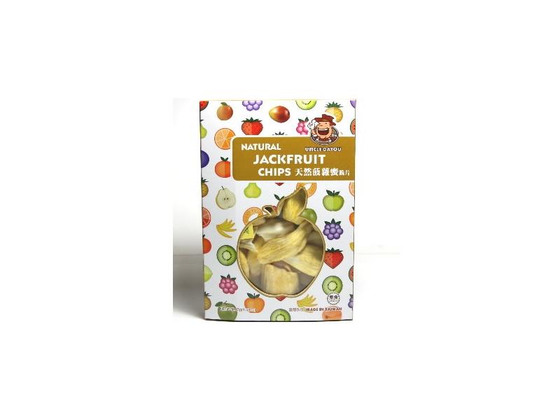 大頭叔叔UnCLE DATOU_蔬菜脆片水果脆片-菠蘿蜜脆片《盒》