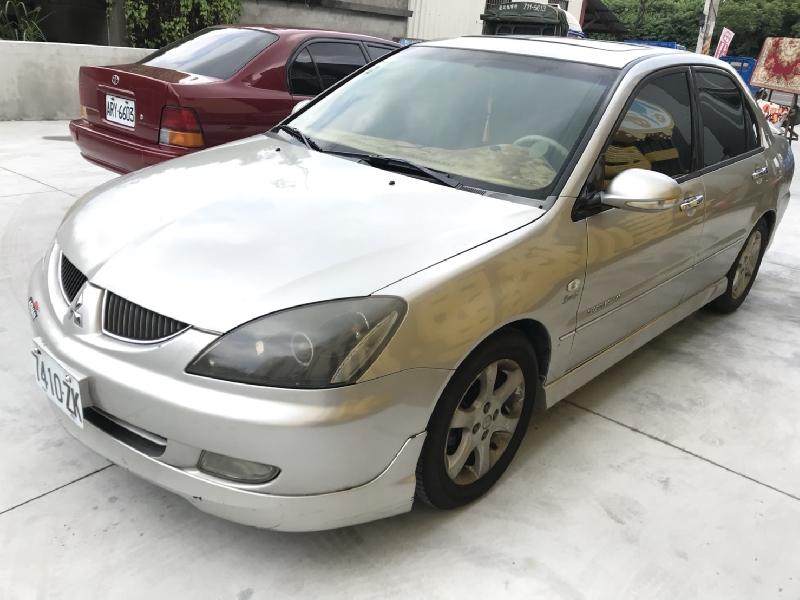 """三隻小豬車坊 """"實車實價"""" 2003年 中華 銀色LANCER  1.8"""