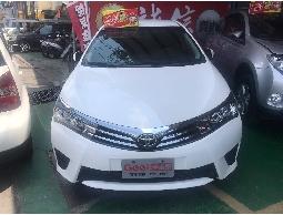 三隻小豬車坊~實車實價 2015 豐田  ALTIS 白色  1.8L   里程三萬多