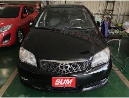 2009年 黑色 豐田 VIOS 黑灰內裝 經典不敗小車