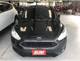 三隻小豬車坊  實車實價  2015年 福特  FOCUS  灰色  黑內裝 1.5L