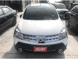 三隻小豬車坊  實車實價  2013年 日產  LIVINA  白色  黑內裝 1.6L
