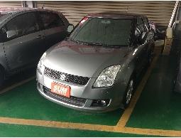 三隻小豬車坊  實車實價  2008年 鈴木 SWIFT  灰色  黑內裝 1.5L