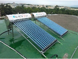 超導熱管太陽能熱水器