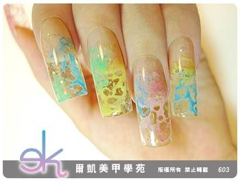 透亮的水晶指甲^___^