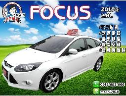 【信宇精選】FOCUS 2013年2.0L 天窗/TCS防滑/全額貸款 一手認證車