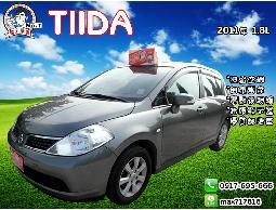 【信宇精選】TIIDA 2011年 1.8L 一手認證車/可全額貸/免頭款