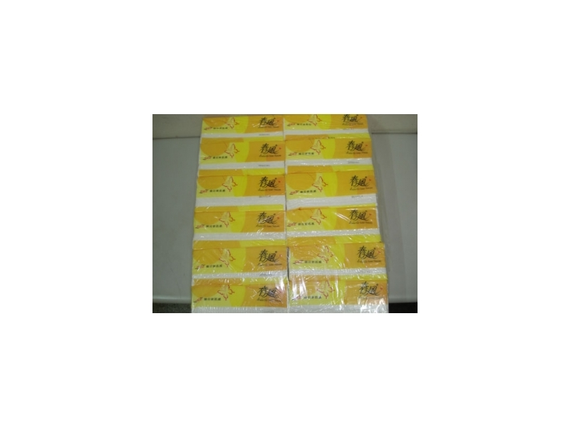 春風抽取式衛生紙120抽/72包一箱