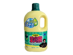 彩漂新型漂白水2000g一箱六瓶