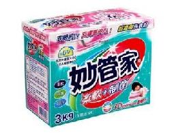 妙管家超濃縮洗衣粉亮色/制菌一箱