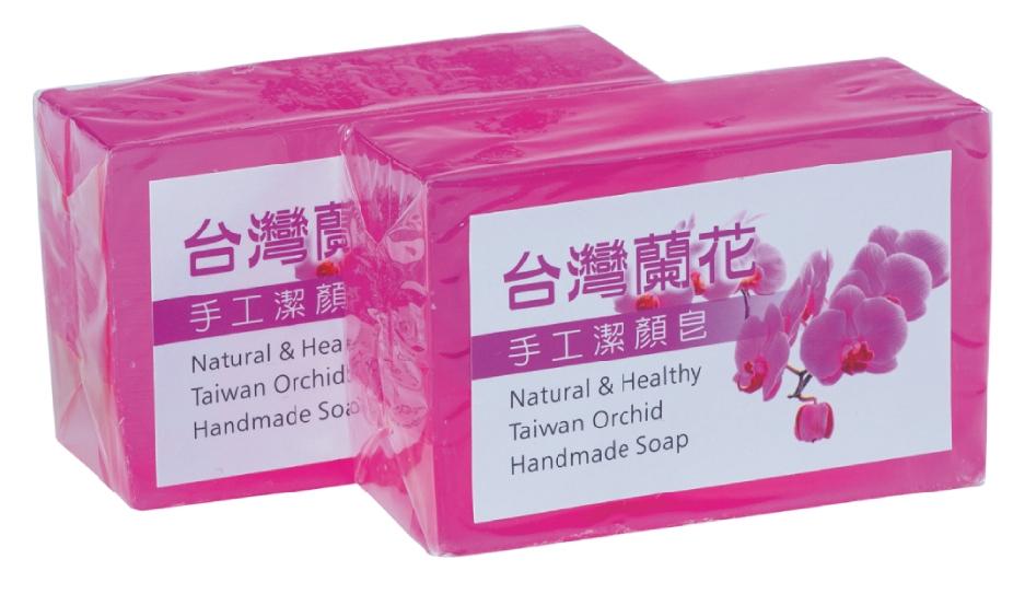 蘭花手工皂