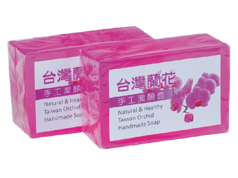 頂級台灣蘭花手工潔顏皂、牛樟芝軟膠囊、Q10膠囊、葡萄糖胺膠囊