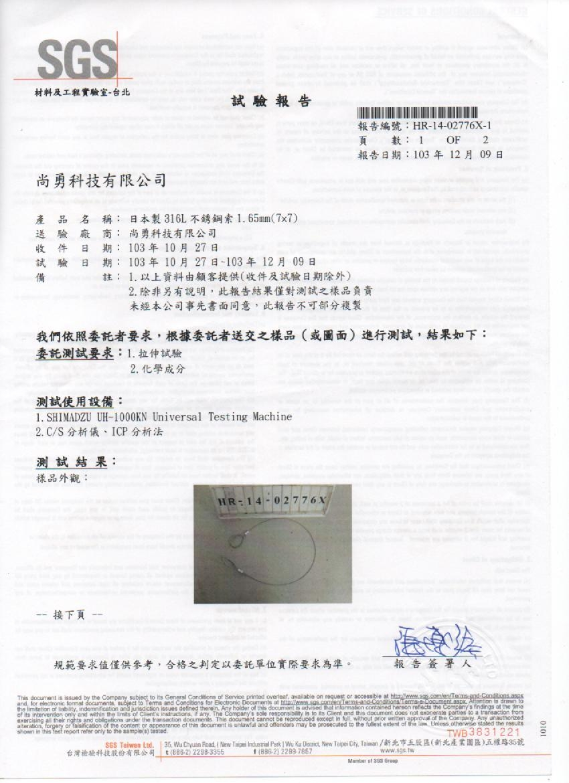 專利檢驗報告