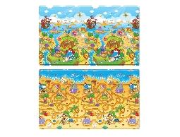 韓國康樂 Dwinguler-(群龍樂園)雙面遊戲墊、地墊(190*130*1.5cm)