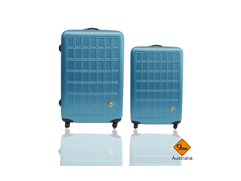 旅行箱/行李箱Gate9 俄羅斯方塊系列ABS輕硬殼拉桿箱登機箱24+20吋兩件組
