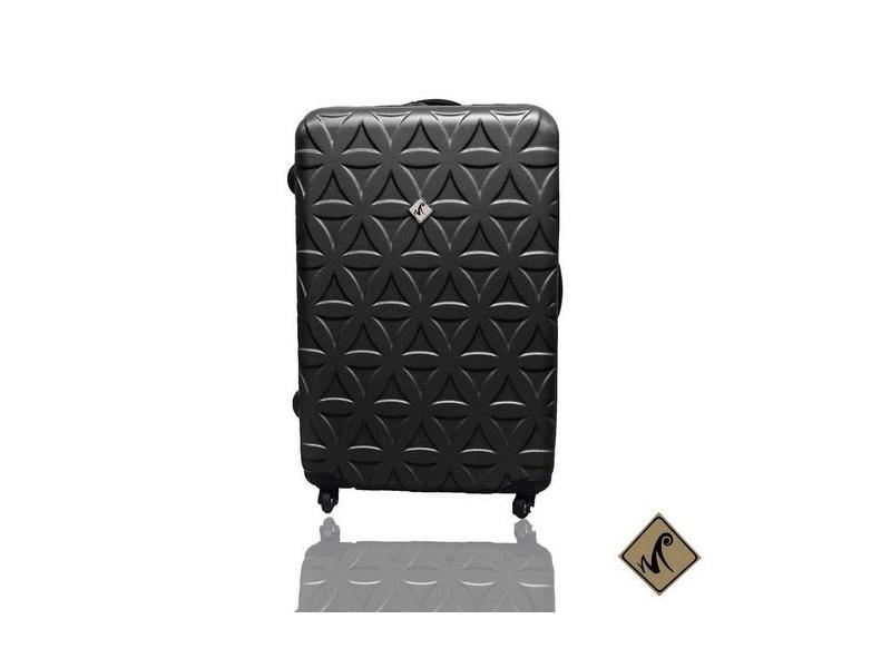 Miyoko時尚花系列經典ABS輕硬殼行李箱24吋