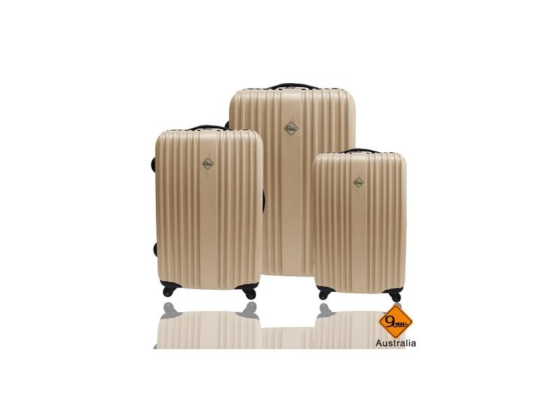 Gate9五線譜系列ABS霧面旅行箱/行李箱三件組