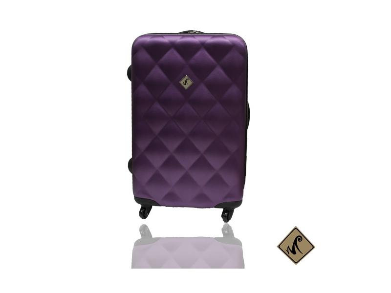 Miyoko菱紋系列ABS材質28吋輕硬殼旅行箱行李箱拉桿箱登機箱
