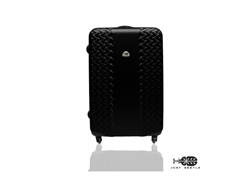 Just Beetle時尚雙編系列ABS輕硬殼行李箱旅行箱登機箱拉桿箱28吋