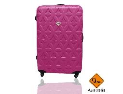 Gate9花花系列ABS霧面旅行箱行李箱拉桿箱登機箱28吋