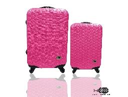 旅行箱/行李箱Just Beetle 編織風情系列ABS材質霧面輕硬殼28+20吋兩件組登