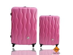 Gate9波西米亞系列ABS霧面旅行箱行李箱拉桿箱登機箱兩件組28+20