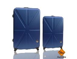 行李箱旅行箱Gate9英倫系列ABS輕硬殼登機箱拉桿箱兩件組24+20
