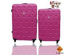 行李箱/旅行箱Gate9花花系列ABS霧面登機箱/拉桿箱28+24吋